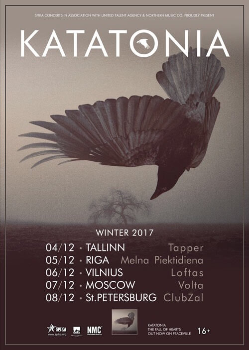 Russia tour Dec 2017