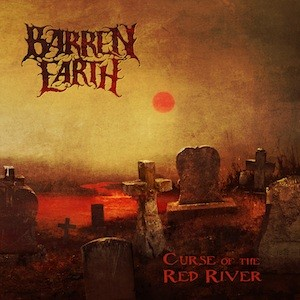 BARREN EARTH Curse of The Red River(CD)