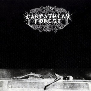 CARPATHIAN FOREST Black Shining Leather(Vinyl)