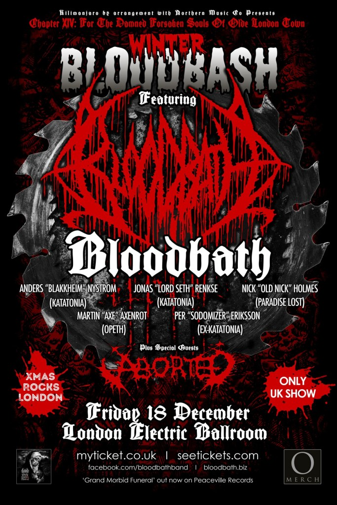 Winter Bloodbash poster