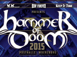 My Dying Bride & Pentagram confirmed for Hammer of Doom Festival (Germany