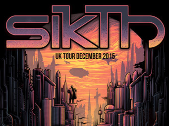 DESTRAGE added to Sikth UK tour in December