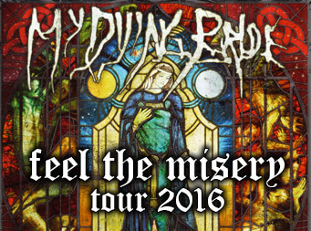 My Dying Bride announce 'Feel the Misery' European tour & festival dates