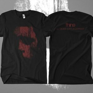 Thine The Dead City BlueprintT-Shirt