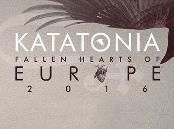Katatonia announce Fallen Hearts of Europe 2016 headline tour