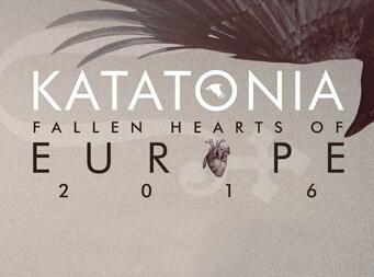 Katatonia announce Fallen Hearts of Europe 2016 headline tour
