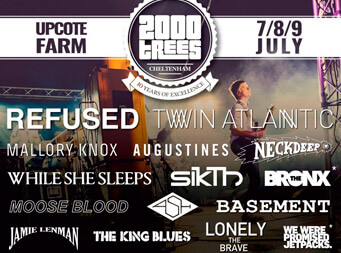 Sikth confirmed to play the UK's 2000 Trees Festival