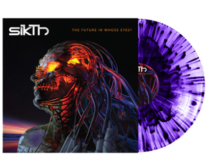 SikThThe Future In Whose Eyes?(Purple Splatter Vinyl)