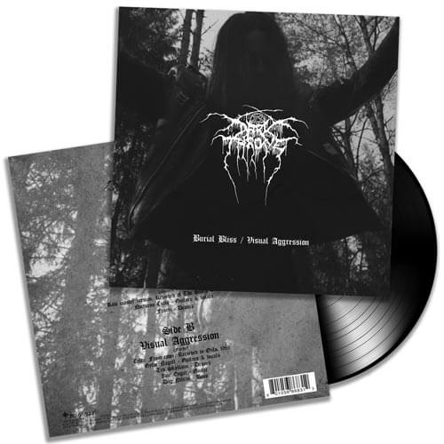 DarkthroneBurial Bliss / Visual Aggression(7″ Vinyl)