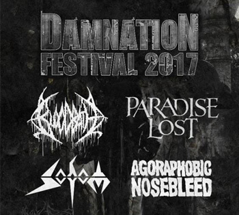 Bloodbath confirmed for this year's Damnation Festival