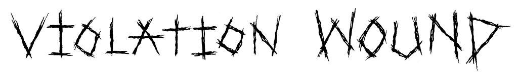 VW logo black long