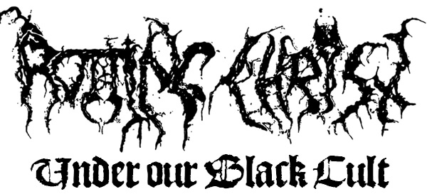 Rotting Christ and title black