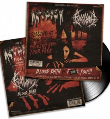 <b>Autopsy / Bloodbath</b><br>Fuck You!!! / Blood Bath<br>(7&#8243; Vinyl)