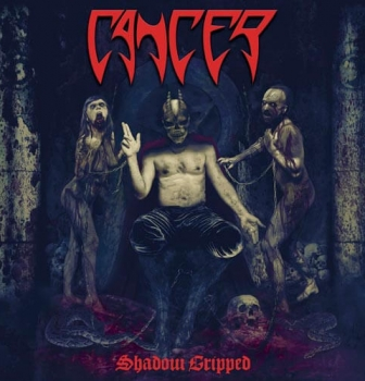 The UK legends of death metal, Cancer, reveal gruesome new album Shadow Gripped