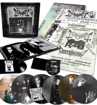 <b>Mayhem</b><br>Cursed in Eternity<br>(Vinyl box set)