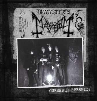 Mayhem release 6 picture disc vinyl box set Cursed in Eternity