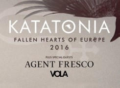 Katatonia announce Agent Fresco & Vola are set to join them on tour