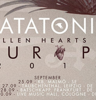 Katatonia add German and Norway dates to the 'Fallen Hearts of Europe' tour