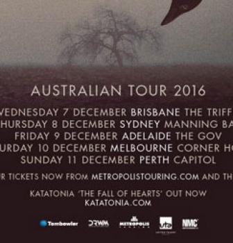 Katatonia announce first headline tour of Australia