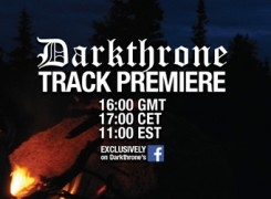 Darkthrone premiere new track from Arctic Thunder 18.08.16 at 4pm (UK time)