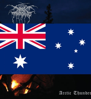 <b>DARKTHRONE</b><br>Arctic Thunder<br>(Australia)