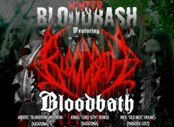 Bloodbath share 'Krampus' trailer ahead of 'Winter Bloodbash' London show