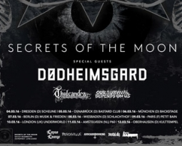 Dødheimsgard announce European tour with Secrets  of the Moon, Thulcandra, Our Survival Depends on Us