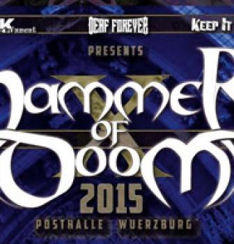 My Dying Bride & Pentagram confirmed for Hammer of Doom Festival (Germany