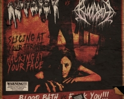 "Autopsy vs Bloodbath – the double feature – split 7"" single to be released"