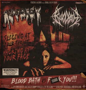 "Autopsy vs Bloodbath – the double feature – split 7"" single OUT NOW"