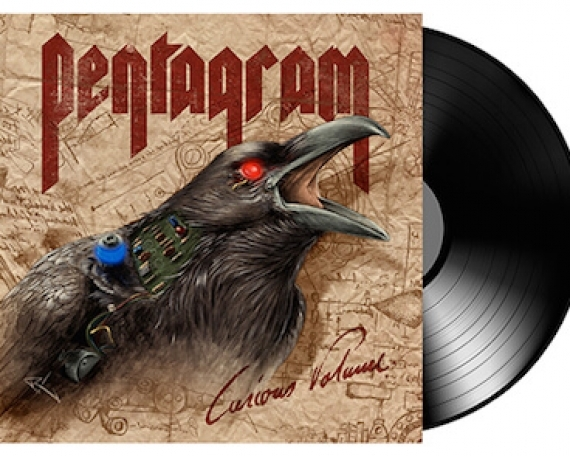 PENTAGRAM Curious Volume(Vinyl)