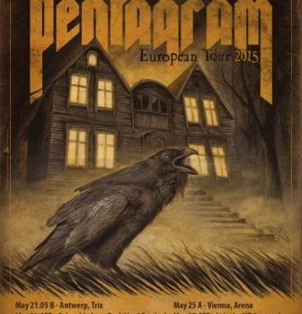 Pentagram European Tour / DVD out now!