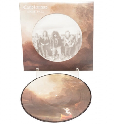 <b>Candlemass</b><br>Nightfall<br>(Picture Disc Vinyl)