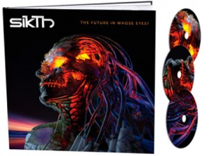 SikThThe Future In Whose Eyes?(Deluxe 3CD Book)