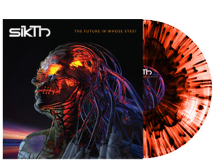 SikThThe Future In Whose Eyes?(Orange Splatter Vinyl)