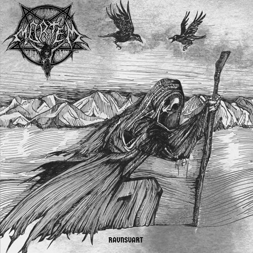 Black metal legends Mortem release new album and song 'Ravnsvart'