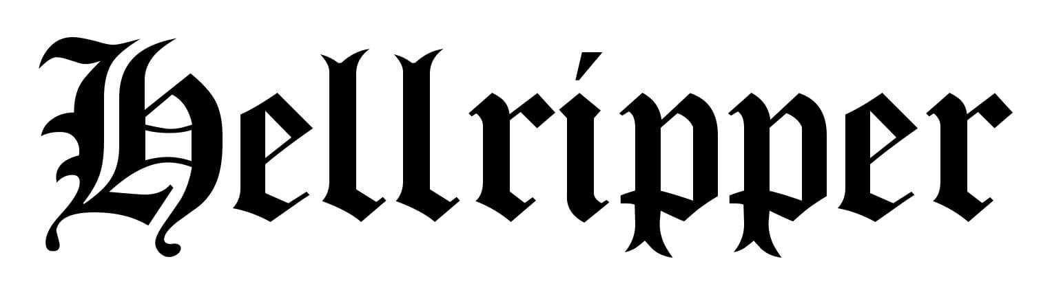 Hellripper black logo