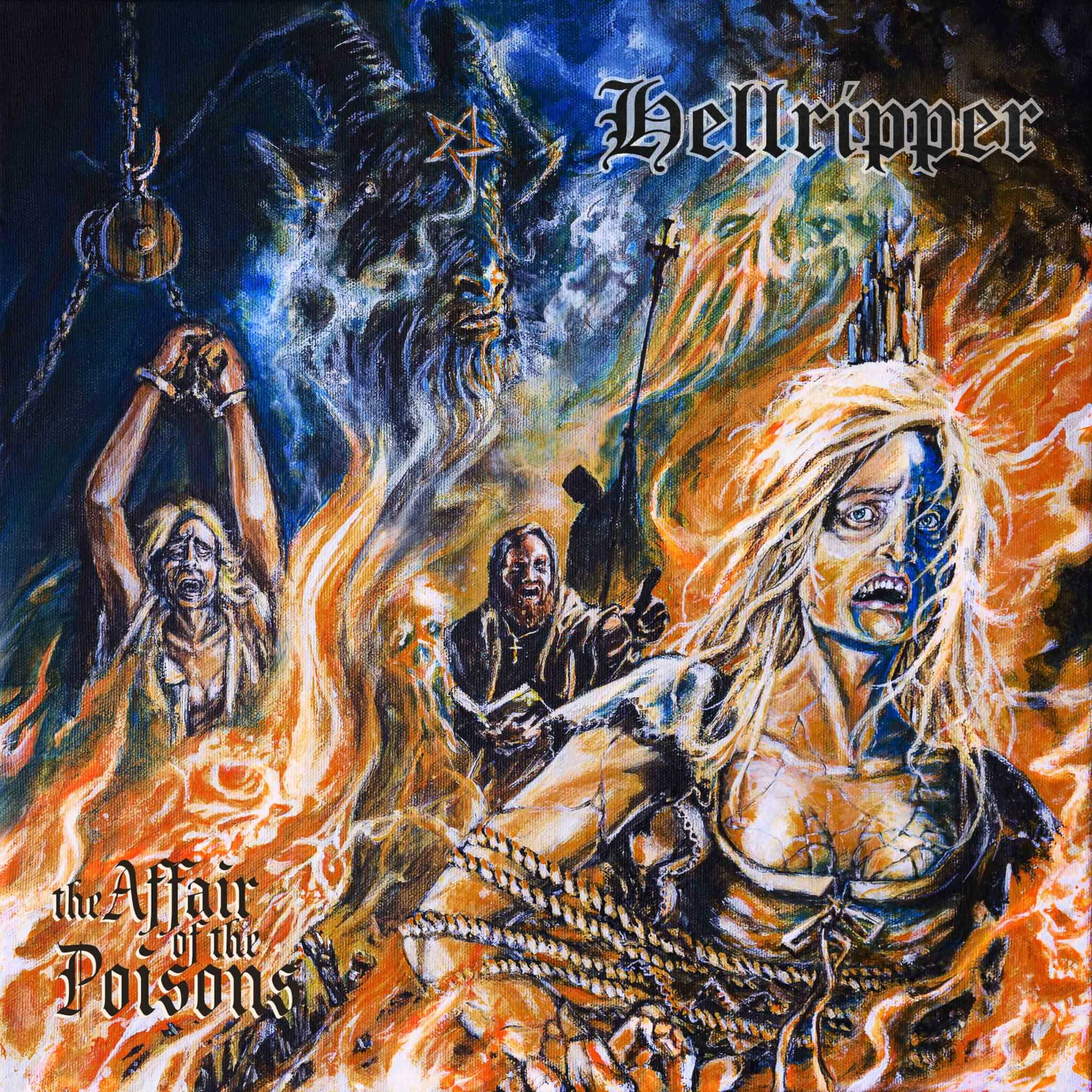 Hellripper release new single 'The Affair Of The Poison' – the title track of new studio album due for release 9th October