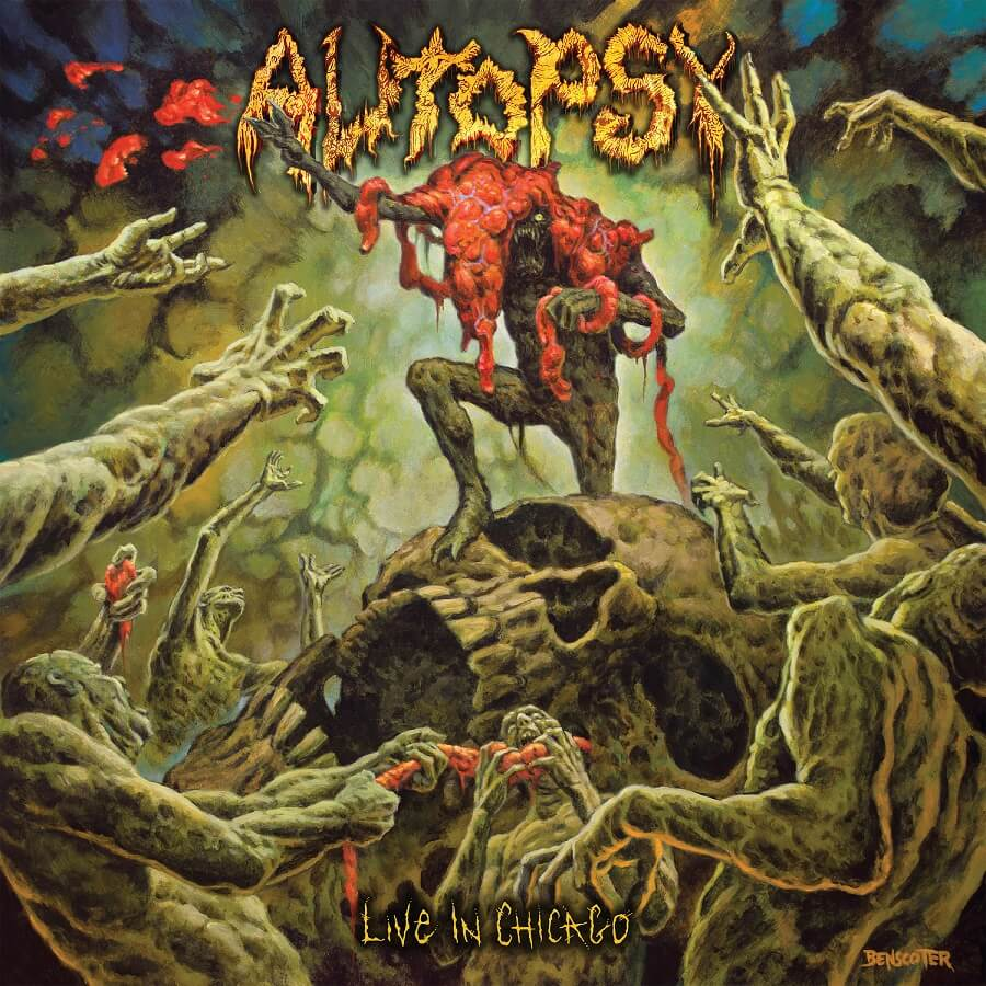 Autopsy's first official live album, 'Live in Chicago' out 30th October