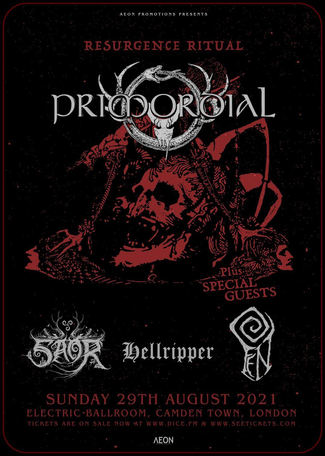 Hellripper announce London show – Resurgence Ritual Show