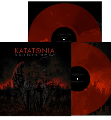 <b>Katatonia</b><br>Night is the New Day<br>(Red Vinyl)