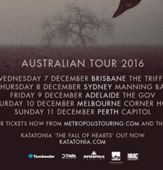 Katatonia announce first headline tour of Australia