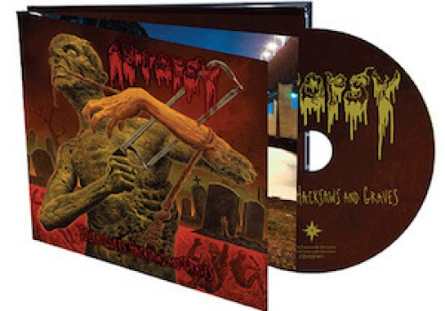 AUTOPSY Tourniquets Hacksaws & Graves(CD)