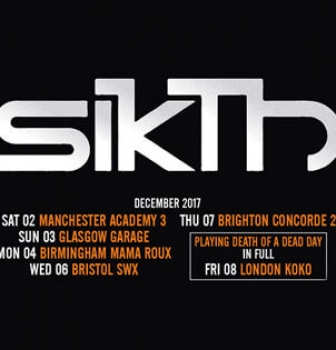 SikTh to perform special Death of a Dead Day show at Koko, London during UK tour